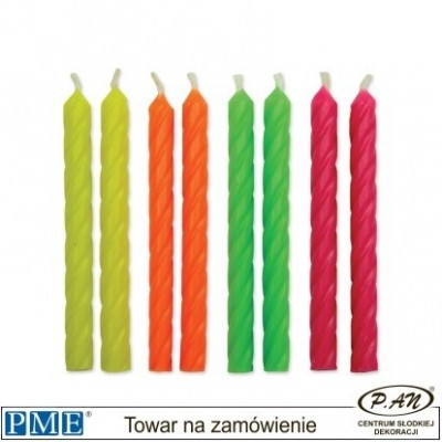 Candles- 4 kolory- 2.3''-24pcs-PME_CA029