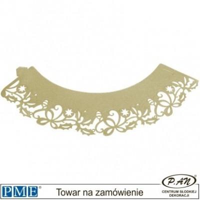 Owijki-kremowe kwiatki-12pcs-PME_CW911