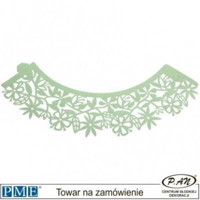 Owijki-fale-jasny zielony-12szt.-PME_CW924