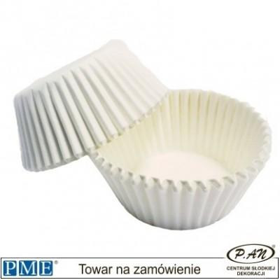 Baking Cases- mini-white-100pcs-PME_BC713