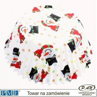 Papilotki- Bałwan-60szt.-PME_BC750