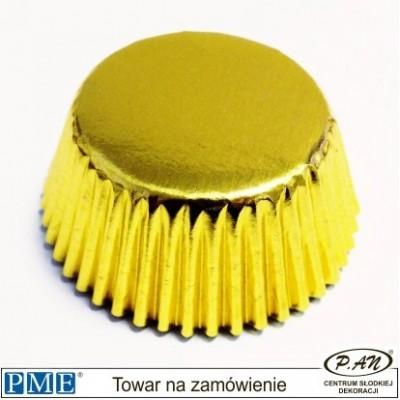 Papilotki metaliczne-mini srebrne-45szt.-PME_BC715