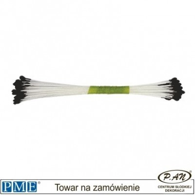 Flower Centres-black-large-50pcs-PME_STAM04BL