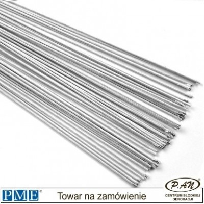 White Floral Wires- 50pcs-PME_FW126