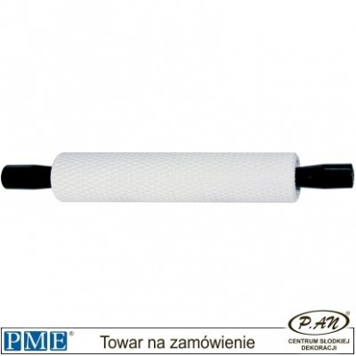 Basketweave rolling pin-10x2''-PME_BW81