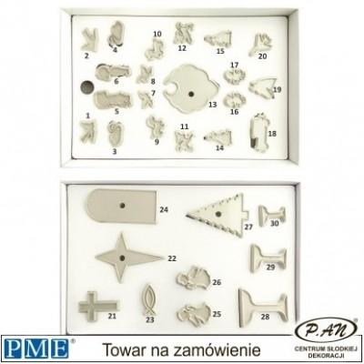 Plastic cutter-set of 22 pcs-PME_107P014