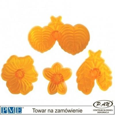 Plastic cutter- Flower-set of 3-PME_103FF050