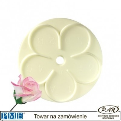 Plastic cutter- Rose-set of 8-PME_103FF004