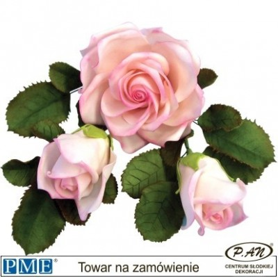 Plastic cutter- Rose-4.3''-PME_103FF023