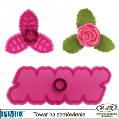 Plastic cutter- Rose-set of 3-PME_103FF054