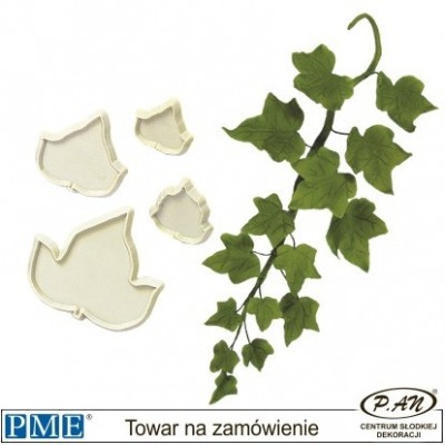 Plastic cutter-Rose Leaves-set of 3-PME_103FF010