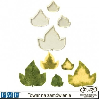 Plastic cutter-Small Ivy-set of 3-PME_103FF033