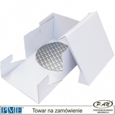 Cake card & box -round- 13''-PME_BCR870