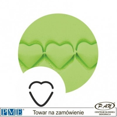 Crimpers- Heart-set of 2- PME_HS340