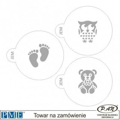 Szablony- Księżniczka-3 szt.- PME_SA17