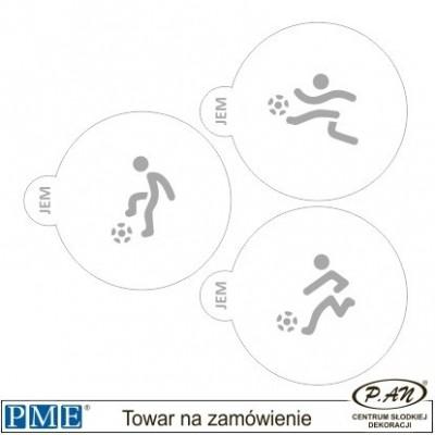 Szablony- Pociąg -3 szt.- PME_SA19