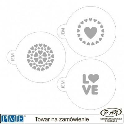 Szablony- Piłkarz -3 szt.- PME_SA20