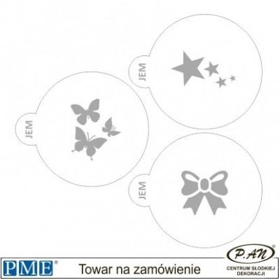 Szablony- Love -3 szt.- PME_SA21