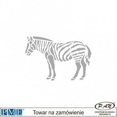 Szablony- Hipopotam -72x97mm- PME_SA9