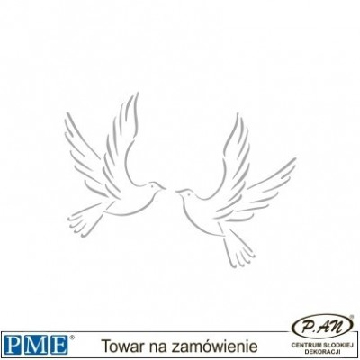 Szablony- Zebra -64x96mm- PME_SA13