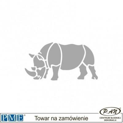 Szablony-Nosorożec-rozmiar: 62x118mm-PME_SA8
