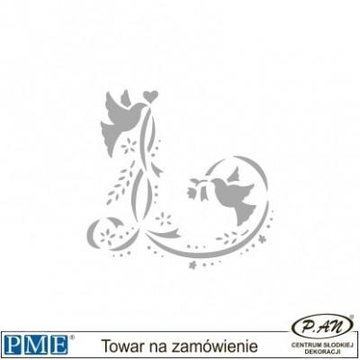 Stencils-Butterflies Four-5x2.3''-PME_SBB2