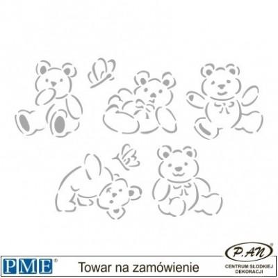 Stencils-Paw Prints -3.5x1.7''-PME_SMI2