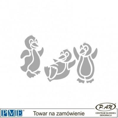 Stencils-Single Daisy Sprig-2x1''-PME_SW1