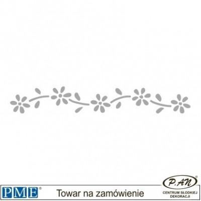 Stencils-Daisy Scroll-6.7x1''-PME_SB3