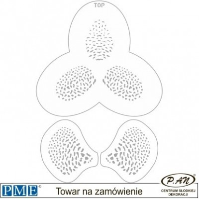 Stencils-Orchid3-set of 3-PME_SFF17