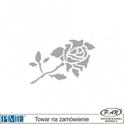 Szablon-Róża-43x30mm-PME_SFF5