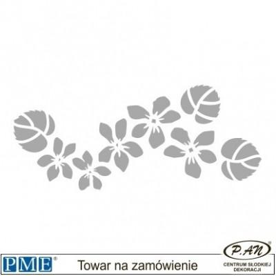 Szablon-Hortensja-107x36mm-PME_SFF9