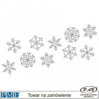 Stencils-Christmas Wreath-5x6.3''-PME_SCH13