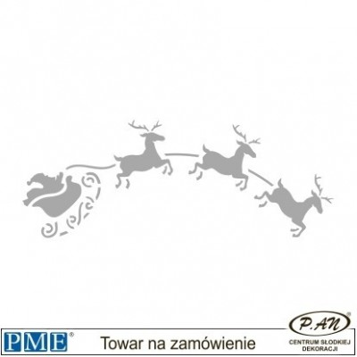 Stencils-Christmas Forest-7.3x2''-PME_SCH12