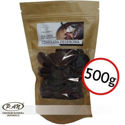 Dark chocolate 60% CALLEBAUT 500g CALLRUBY