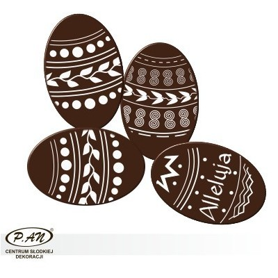 Happy Easter oval 30x20mm- DCN250 140pcs