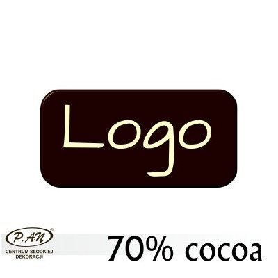 copy of Chocolate logos round 40 mm  [WCK4]