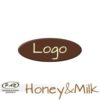 copy of Chocolate logos round 40 mm  [WCK4]