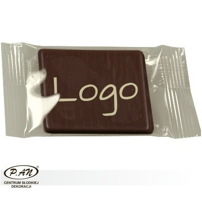 Chocolate logos white