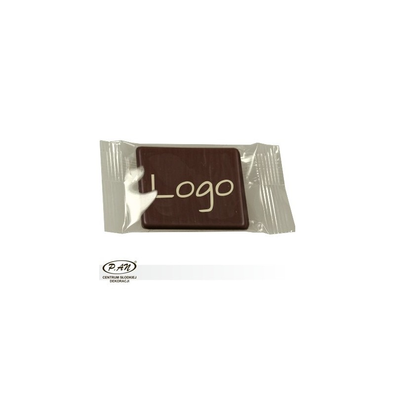 Chocolate logos white