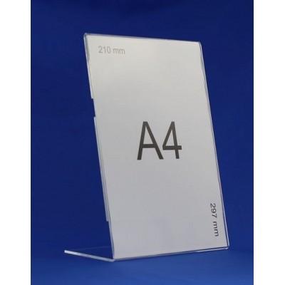 Stojak na pojedynczą ulotkę format A4 pionowo grubsza...