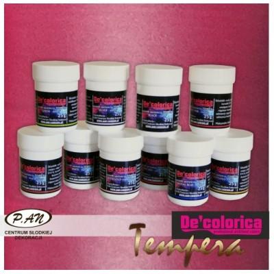 Barwnik TEMPERA - intensywny różowy - 25g - BT004