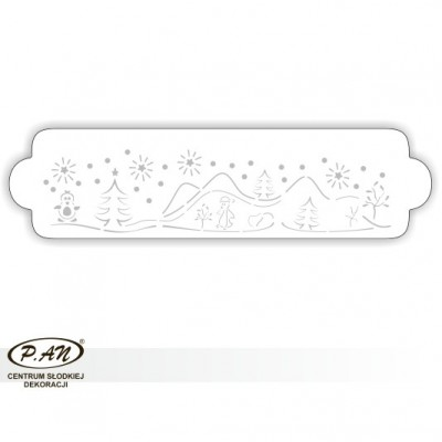 copy of NEW! Decoration stencils for cake borders