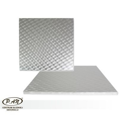 Podkład gruby metalizowany 23x23cm - PK123