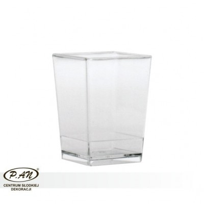 copy of Square medium cup - packs of 100 pcs  PU02