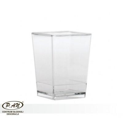 Pucharek kwadratowy średni - 100 szt./opk.