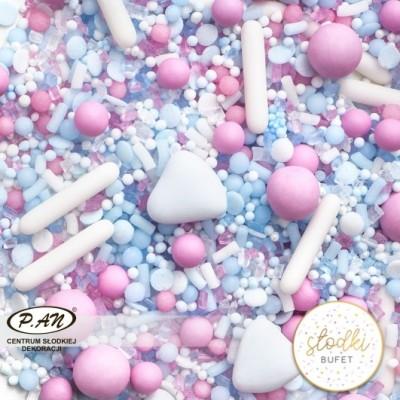 Posypka cukrowa- COZY BLUE- SŁODKI BUFET PC116