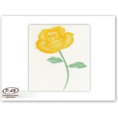 NEW! Decoration stencils 'rose1'
