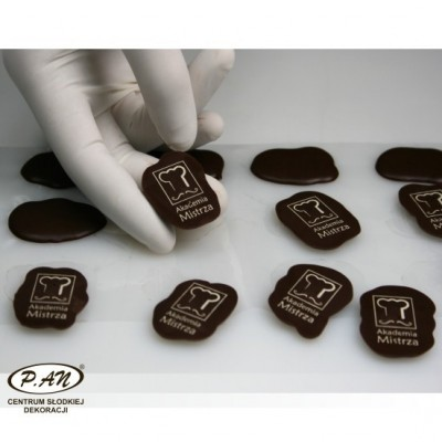 Chocolate film on request  FK 260x120 mm
