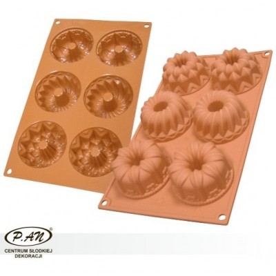 Silicon baking mould MUFFINS SF061 S
